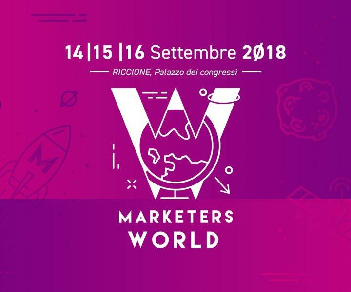 Dal 14 al 16 settembre a Riccione c'è stata la prima edizione di Marketers World, un evento organizzato da Marketers, dedicato allo sviluppo di carriere e professioni digitali con ospiti come Salvatore Aranzulla e Andrea Giuliodori.